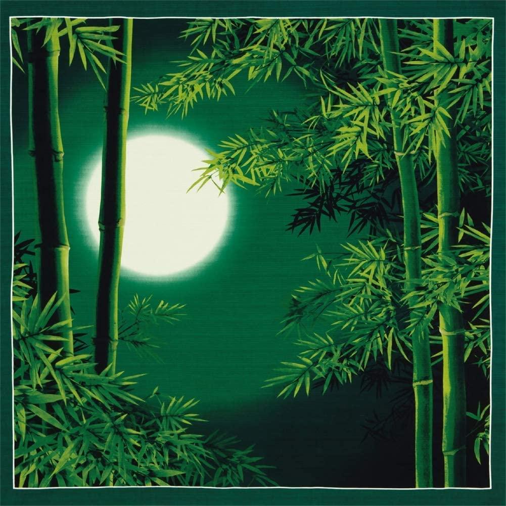 Furoshiki Wrapping Cloth Japanese Summer Bamboo and Moon