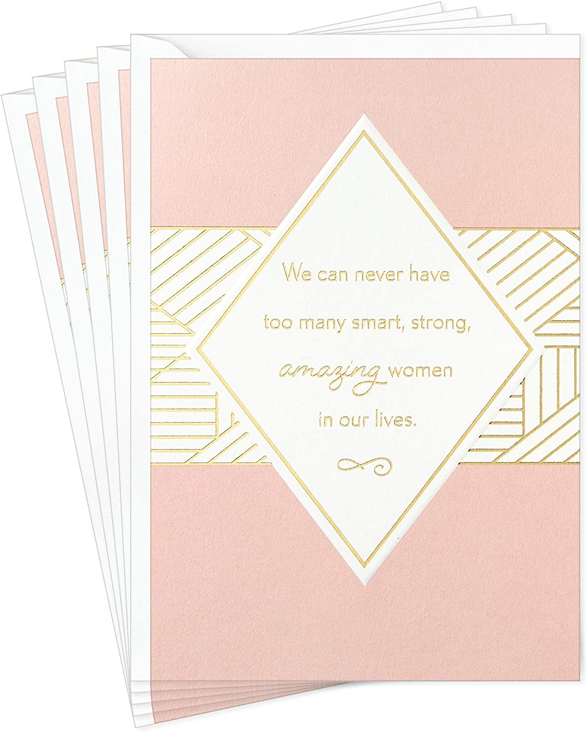 Hallmark Pack of 5 All Occasion Greeting Cards for Mother's Day, Birthdays, Thinking of You, Thank You, and More (5 Cards with Envelopes)