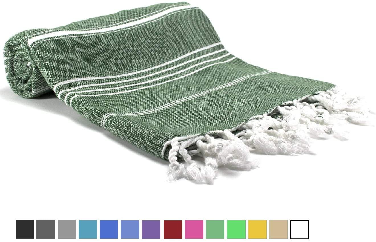Exclusive District | Turkish Towel | Turkish Bath Towel | 100% Cotton | Beach Towel Peshtemal 38