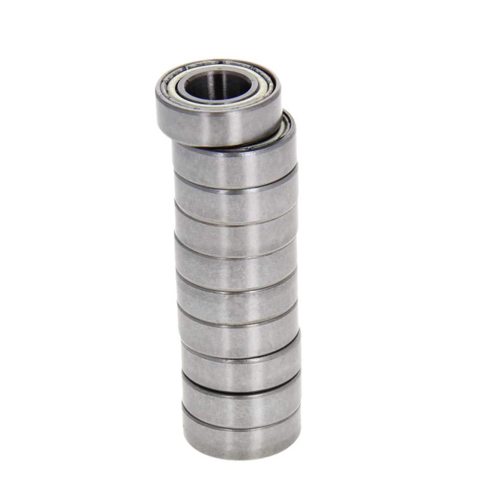 Othmro 688ZZ Deep Groove Ball Bearing 8x16x5mm Double Sealed Chrome Steel Bearings High Carbon Chromium Bearing Steel P0 Carbon Steel 10pcs