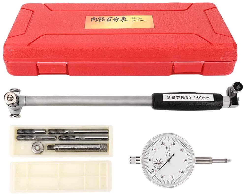 Dial Test Indicator, High Accuracy Indicator, 2~6.3inch Measuring Range, 0.01mm Measurement Accuracy