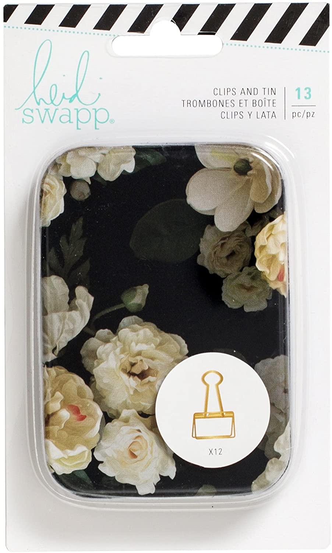 American Crafts Heidi Swapp Magnolia Lane Embellishment 13 Gold Clips