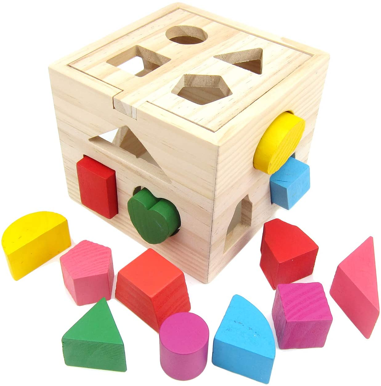 Alfie Pet - Tiny Educational Training Block Toy for Birds