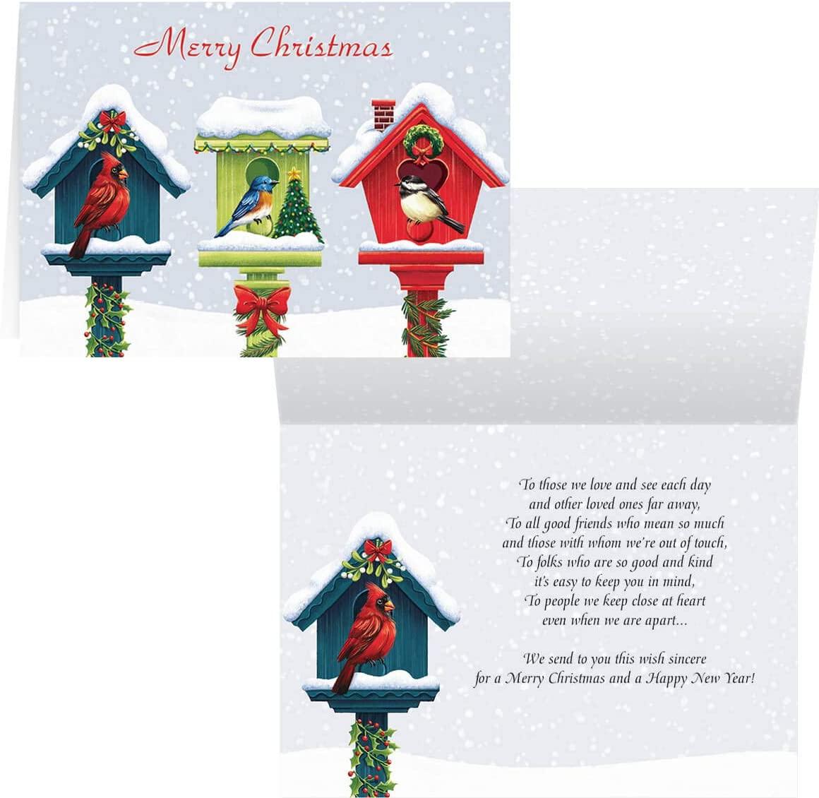 Festive Friends Christmas Card Set of 20