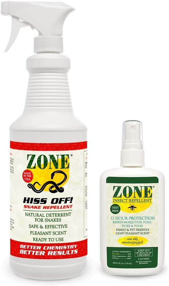 Zone Repellents Camper's Pack | Mosquito, Tick, Fly, and Pest Repellent | Picaridin Insect Repellent Spray | DEET-Free Bug Repellent …