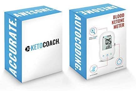 New KetoCoach Blood Ketone Meter Starter Kit | Affordably and Accurately Test if You're in Ketosis On The Ketogenic Diet by Measuring Blood Ketones