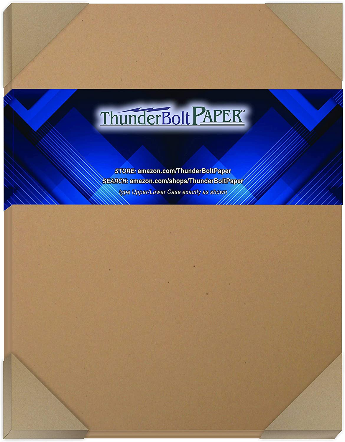 25 Brown Kraft Fiber 80# Cover Paper Sheets - 7X10 Inches Photo|Card|Frame Size -May Fold to 5X7 - Rich Earthy Color with Natural Fibers - 80lb/Pound Cardstock - Smooth Finish