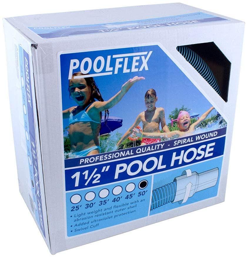 PoolFlex 770NB Swimming Pool Hose, 1-1/2 in. x 50 ft