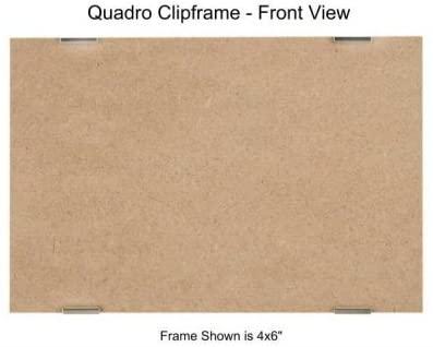Quadro Clip Frame 4x6 inch Borderless Frame, Box of 12