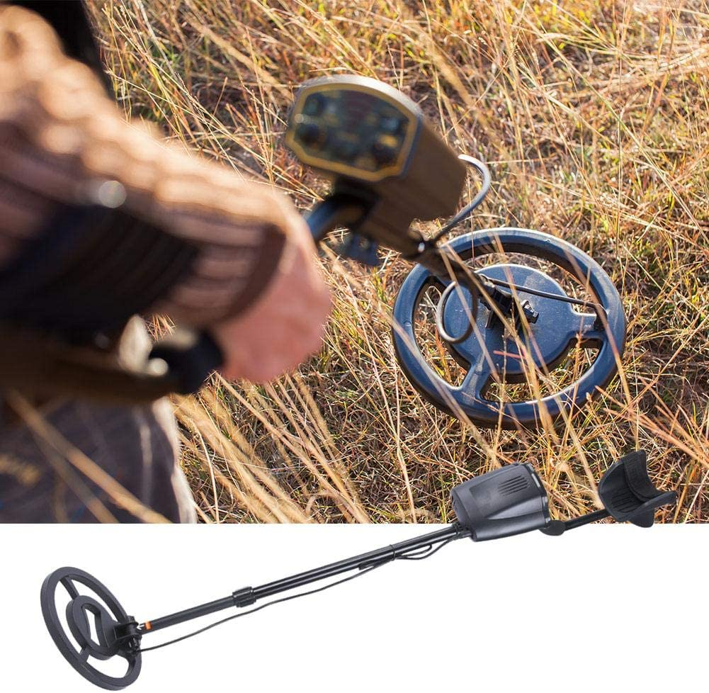 Neufday Metal Detector, Waterproof Portable LCD Underground Metal Detector Locator Finding for Gold Searching