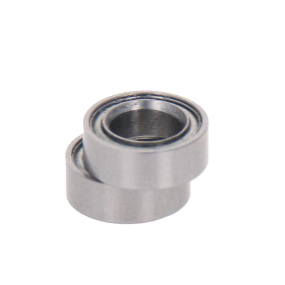 Othmro MR74ZZ Stainless Steel Ball Bearing 4x7x2.5mm Bearings 2PCS