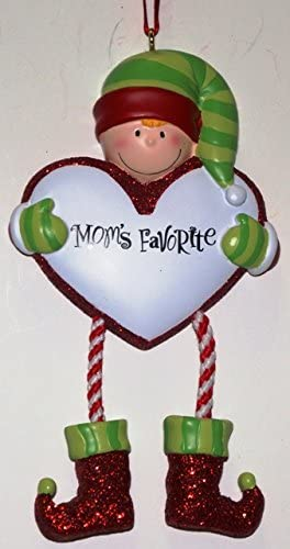 Ornaments Mom's Favorite Personalized Christmas Tree