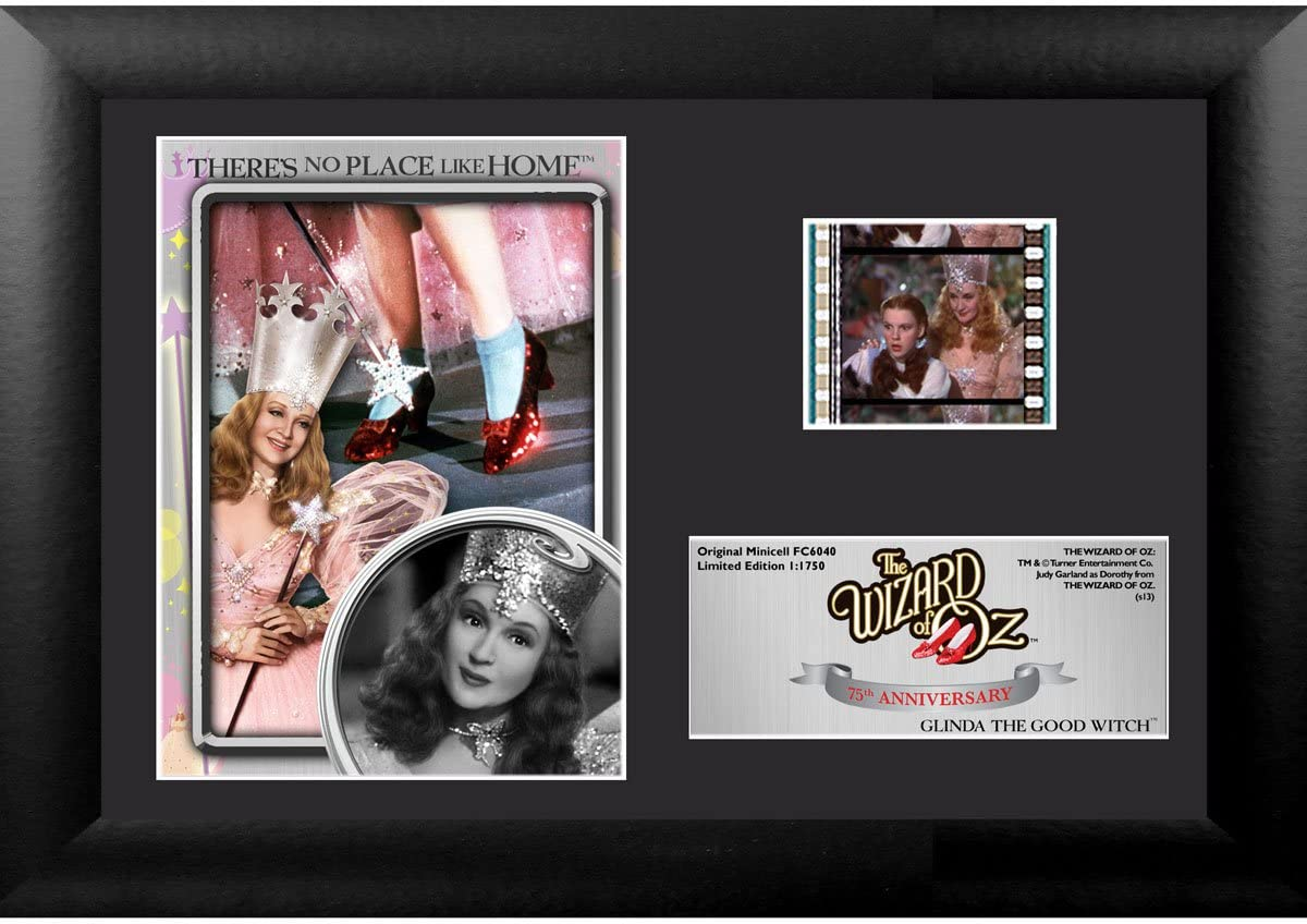 Trend Setters Wizard of Oz 75th Anniversary (Glinda) Mini FilmCell Presentation Framed Memorabilia