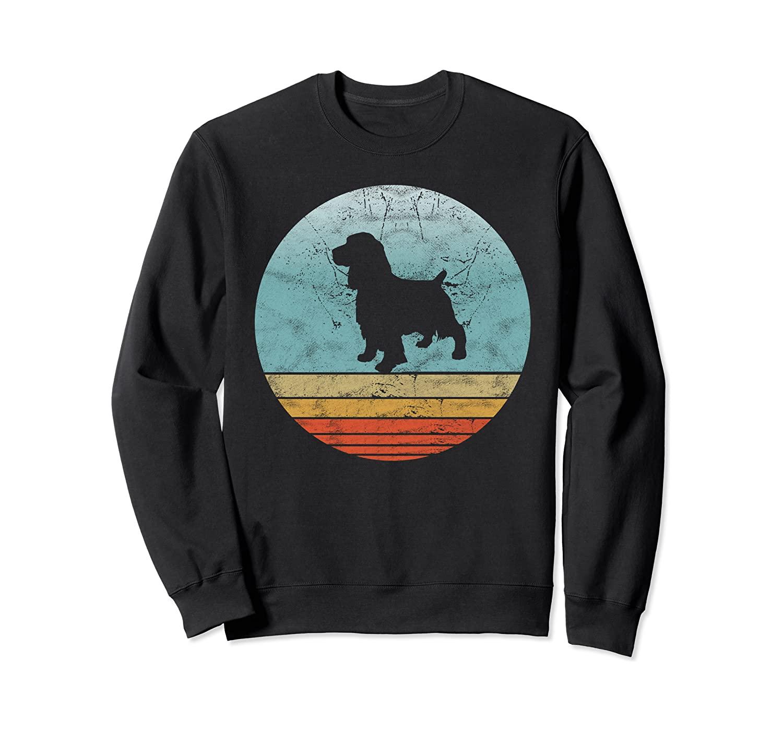 Retro English Cocker Spaniel Dog Breed Vintage Style Dogs Sweatshirt