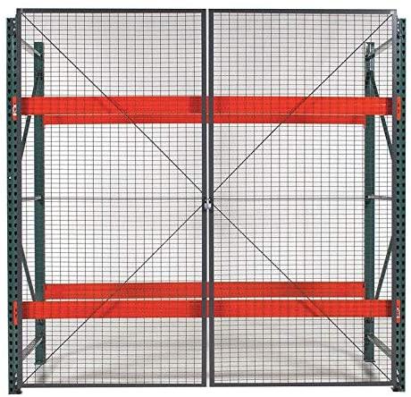 Gray Steel Wire Mesh Door Kit 120