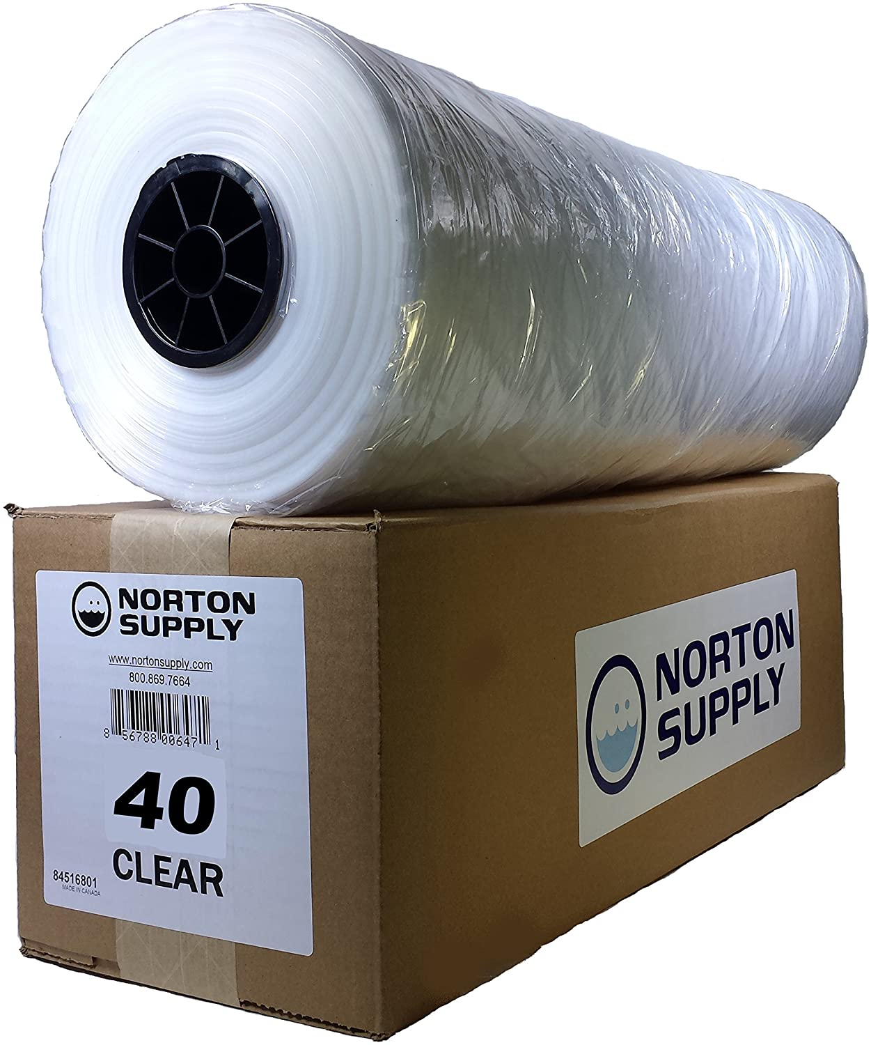 Norton Supply Dry Cleaning Poly Bags - 40