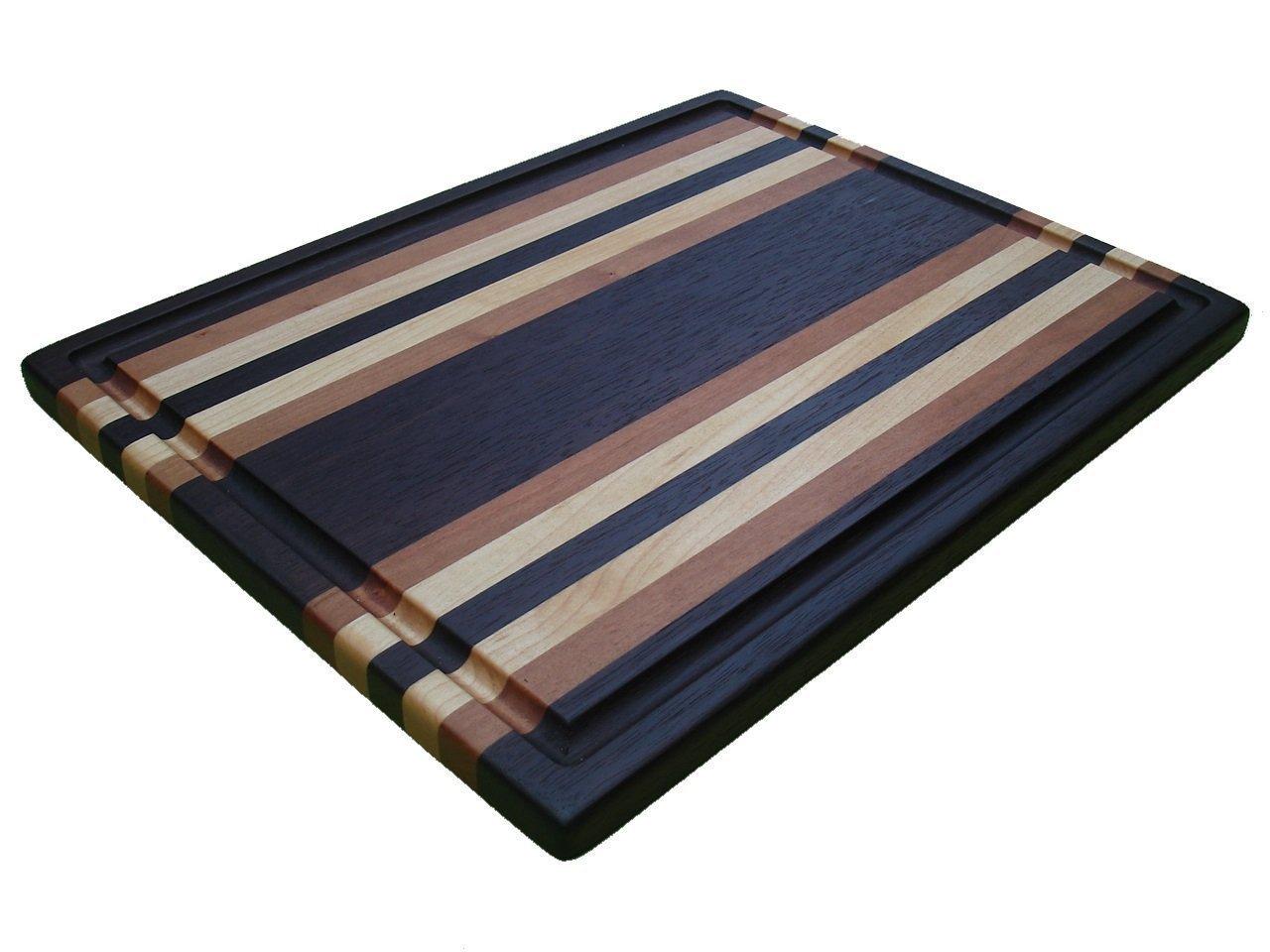 Manhattan Series Extra-Large Cutting Board - Walnut, Cherry & Maple