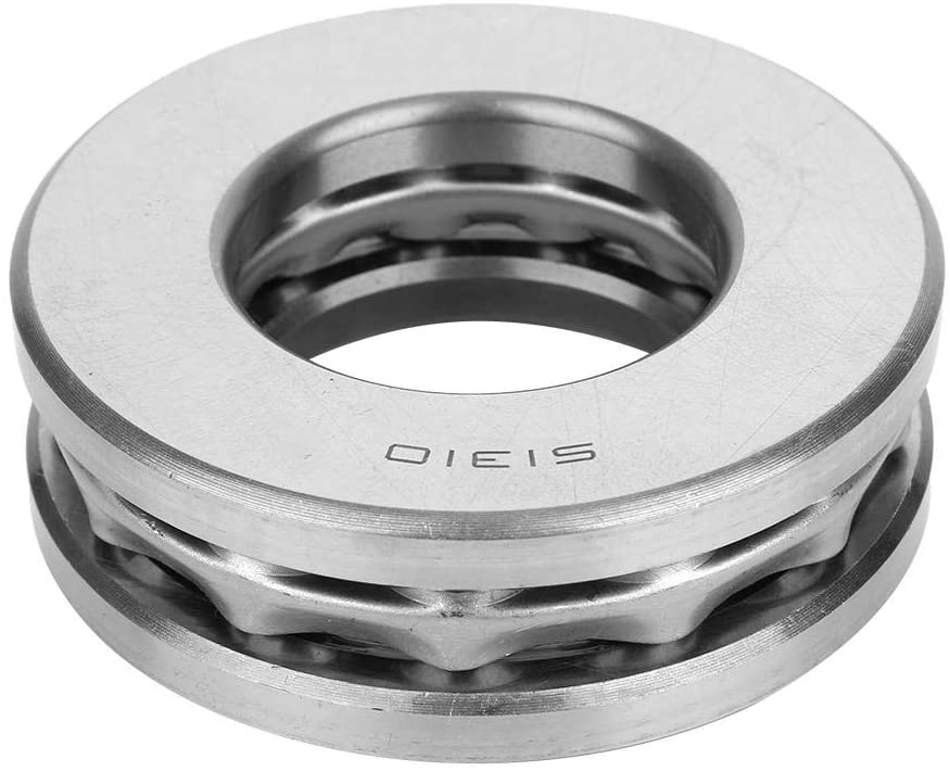 Axial Thrust Ball Bearing High Accuracy Steel Industrial Equipment Inside Diameter Approx 50mmThickness Approx 31mm For Track Bearing