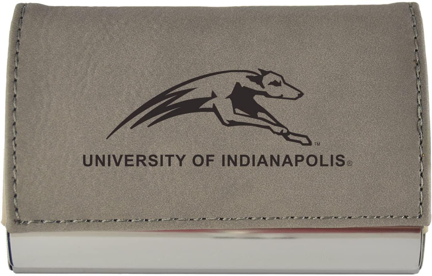Velour Business Cardholder-Indiana University-Grey