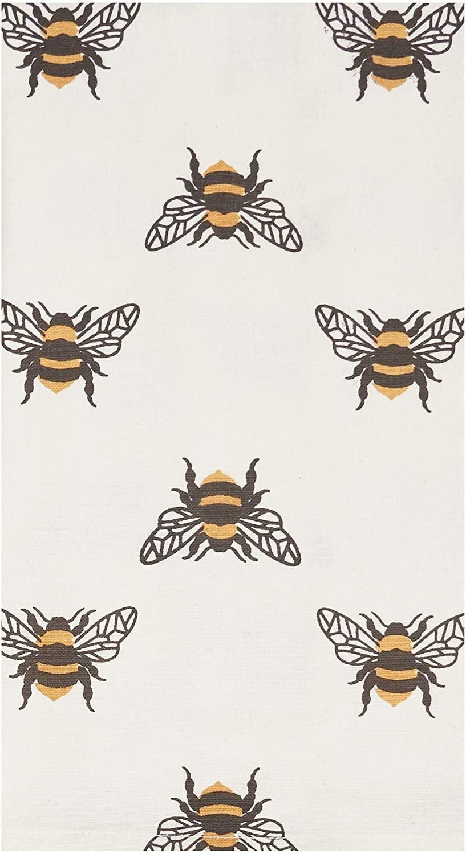 C&F Home Bumble Bee Kitchen Towel Kitchen Towel White