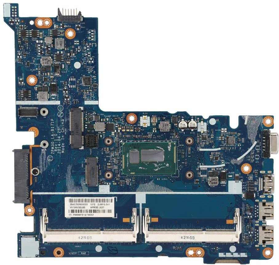 Weiyirot High Compatibility PC Mainboard, ABS + Chip Motherboard, Professional for 440 G2 Notebook(I5-5200)