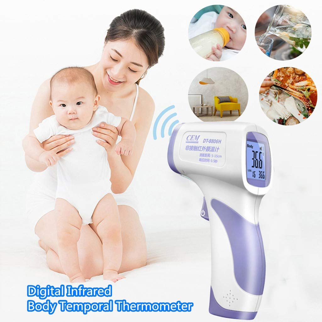 YueShang Forehead Thermometor Digital Infrared Body Temporal Thermometor