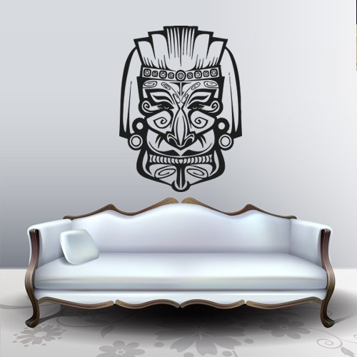 Hamsa Wall Decal Mask Guise Africa Amulet Protection Ward Decoration Tribe M203