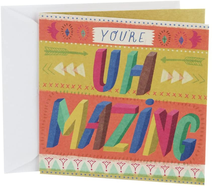 Hallmark Studio Ink Birthday Card (Uh Mazing)