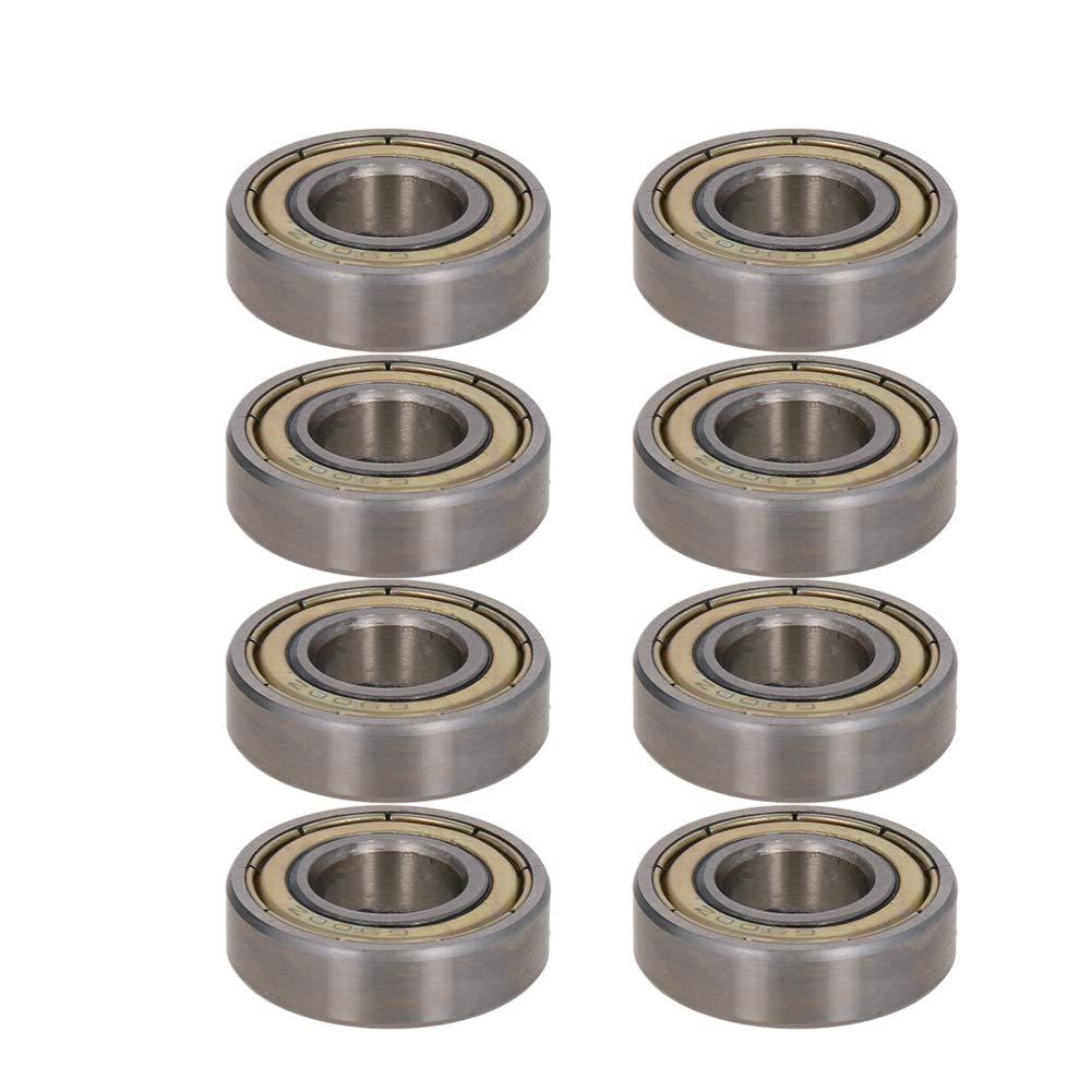 Othmro 6900ZZ Deep Groove Ball Bearing 10mm x 22mm x 6mm Double Shield Deep Groove Bearings High Carbon Steel Z1 (Pack of 8)