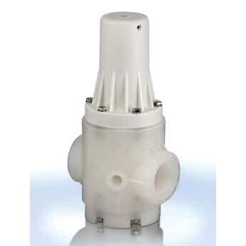 Cole-Parmer PRH050V-PP PP Pressure Regulator Valve, 1/2