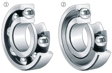 FAG (Schaeffler) 6308-2RSR-L038 - Radial/Deep Groove Ball Bearing - Round Bore, 40 mm ID, 90 mm OD, 23 mm Width, Double Sealed, C0