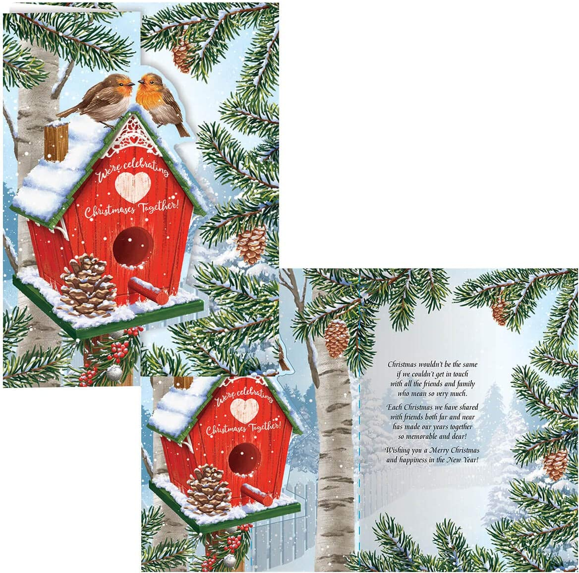 Our Years Together Christmas Card Set of 20