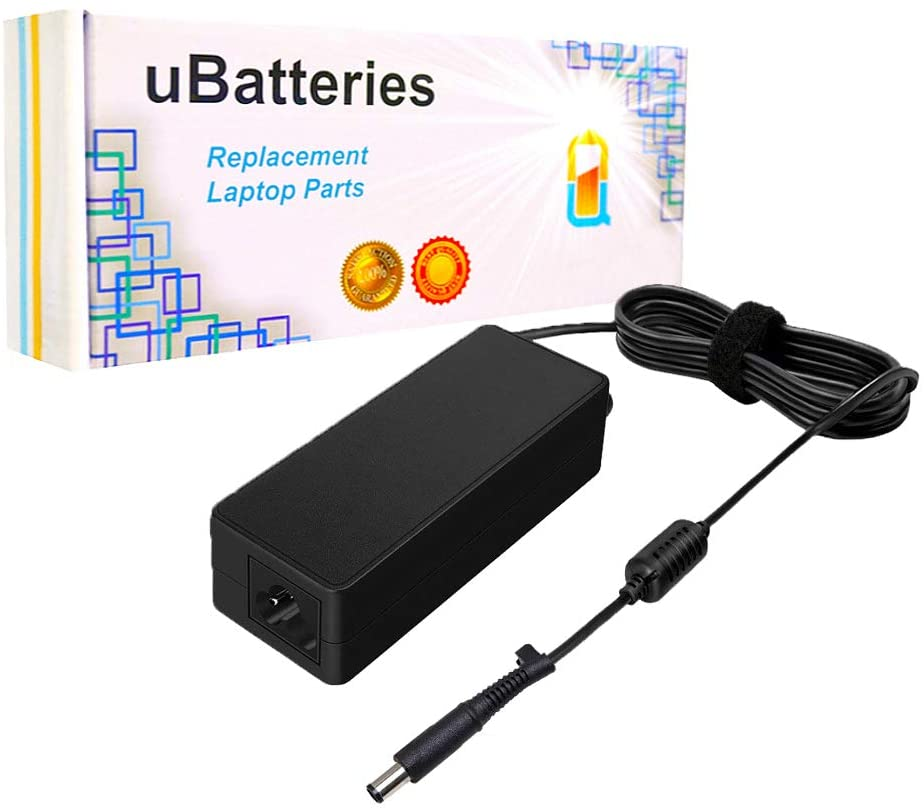 UBatteries Compatible 90W 19V AC Adapter Charger Replacement for HP EliteBook Elite Book EBook 2170P 850 6930p 8440p 8460p 8460w 8470p 8530p 8530w 8540P 8540w 8560p 8570p Series