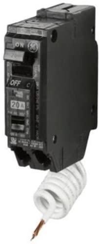 GE ARC Fault Circuit Breaker, 20A 120VAC Single Pole AFCI (THQL1120AF)