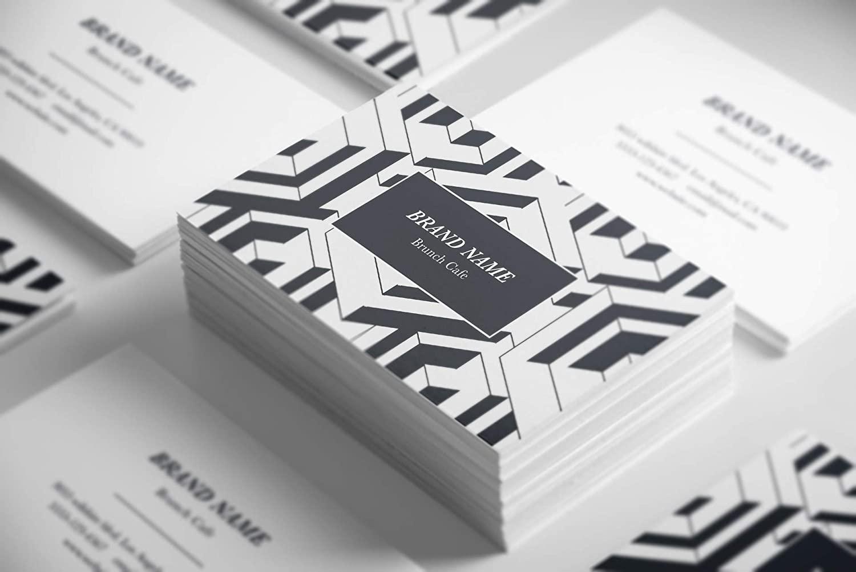 Premium Custom Business Cards (250pcs) Elegant Shimmering Metallic Paper 3.5x2 inches 10pt 240gsm Customizable Design with Luxurious Soft Texture