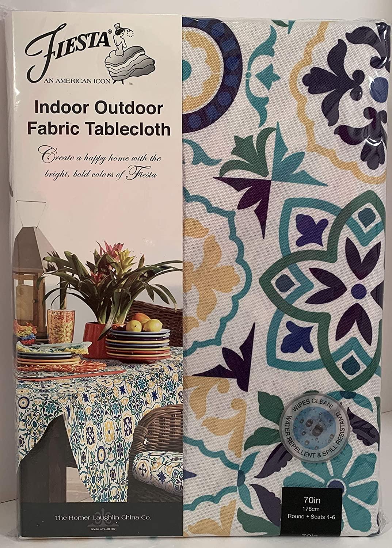 Fiesta Indoor/Outdoor Tablecloth - 70
