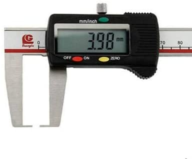 MeterTo Outer Groove Outside Groove Digital Caliper, Range: 0-200mm, Jaw: 80mm, mm/inch