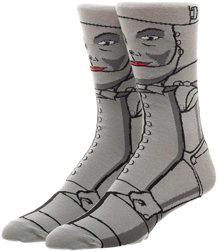 Tin Man Tin Woodman 360 Character Casual Crew Socks