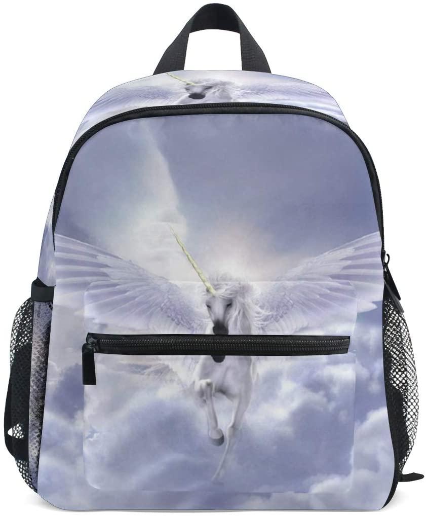 Kids Backpack Flying Unicorn for Toddler Boy Girls Age 2-7