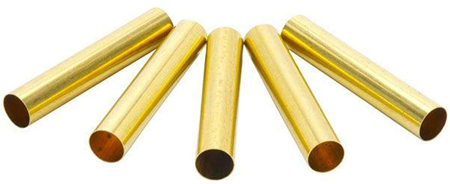 WoodRiver Replacement Brass Tubes for Cirque Twist Ballpoint Pen Kits