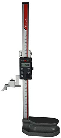 MeterTo Digital Height Gauge Height Caliper, Range: 0-300mm, Resolution: 0.01mm, mm/inch, Used for Height Measurement and Marking