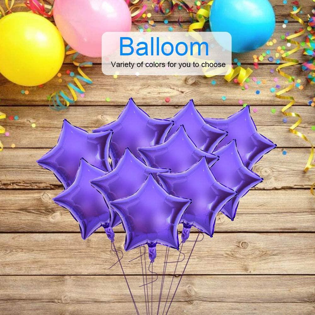 Junluck Ballons Decorations Balloons Bulk Balloon Kit, Party Balloons, Multicolor Balloons Balloons, for Parties for Birthdays(Purple)