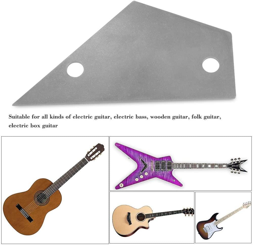 Stainless Steel Fret Rocker Leveling Luthier Tool for Guitars Bass