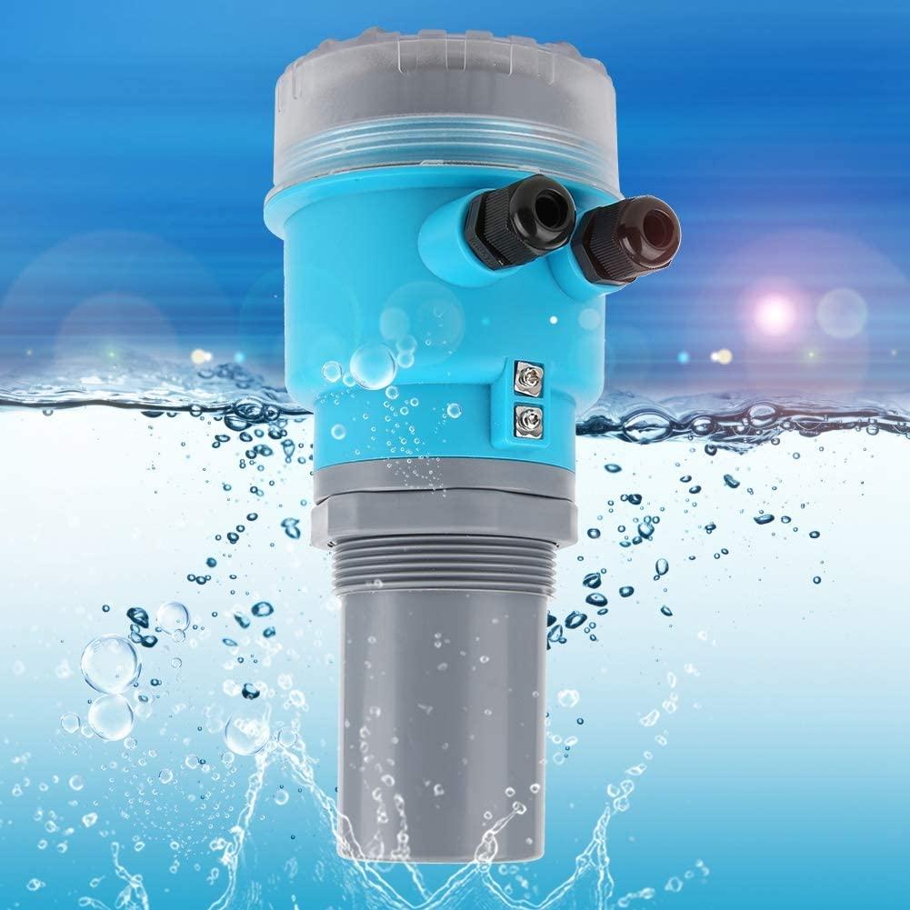 Digital Ultrasonic Level Meter, LED Display Integrated LED Level Meter, for water treatment coal slurry pool mining Mortar pool Electricity(0-10 meters)