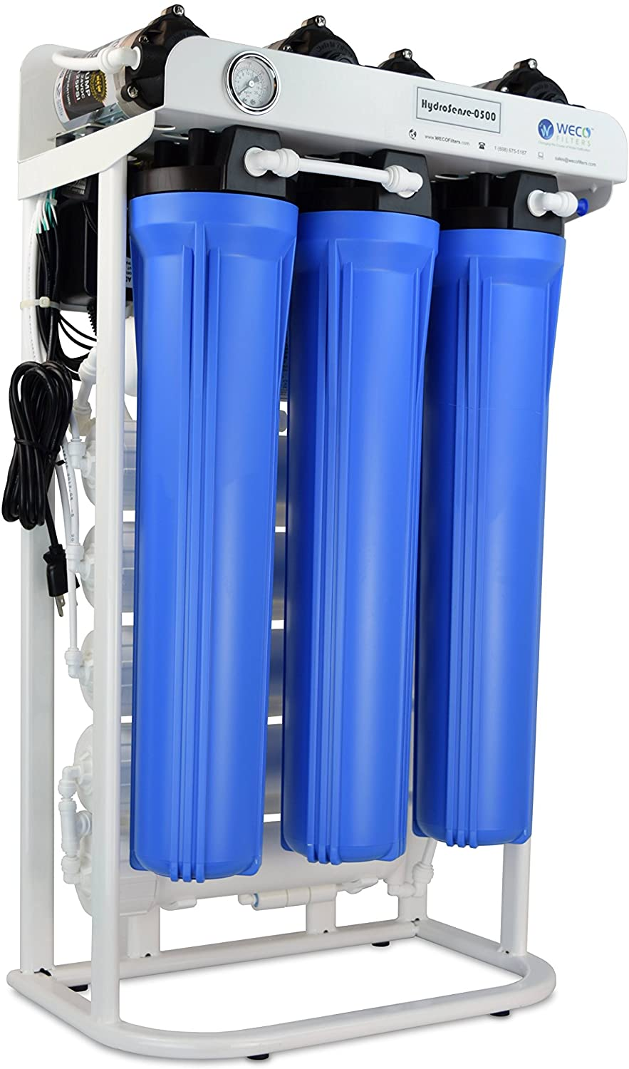 WECO HydroSense Light Commercial Reverse Osmosis Water Filter System (HydroSense-0500)
