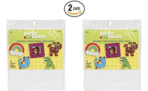 Perler Fun Fusion Ironing Paper 6/Pkg- (2 pack) PackageQuantity: 2 Model: 22731