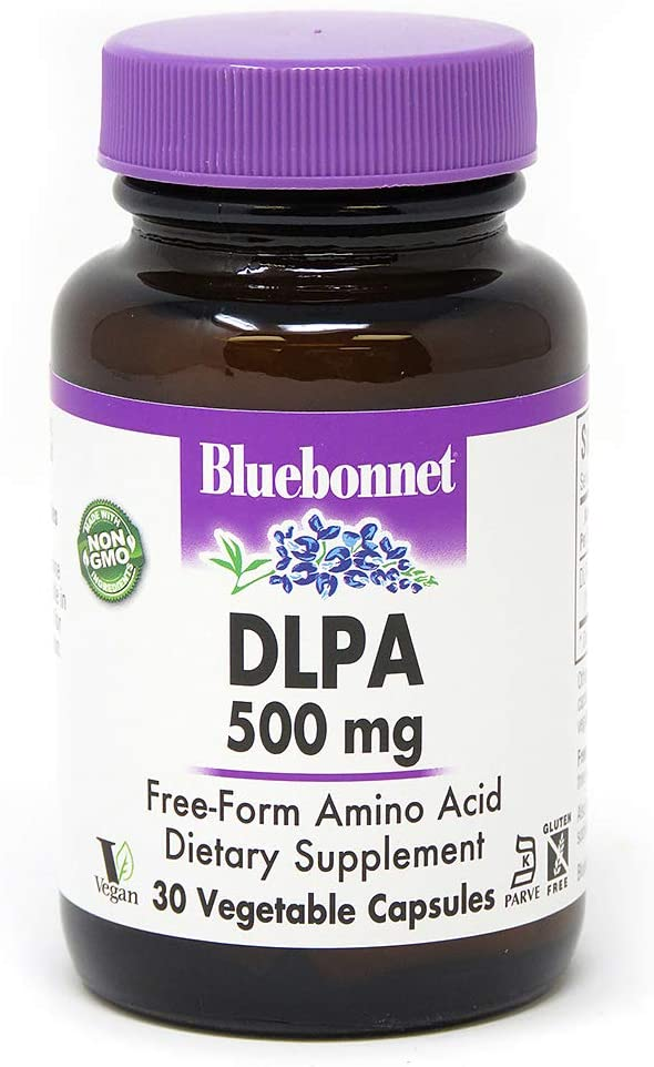 BLUEBONNET Nutrition DLPA 500 mg