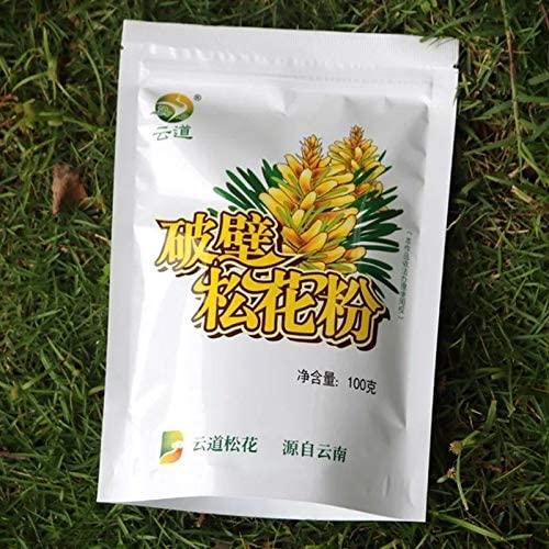 1 Bag Wild Harvested Shell-Broken Pine Pollen Powder 99% Cracked 100g/bag