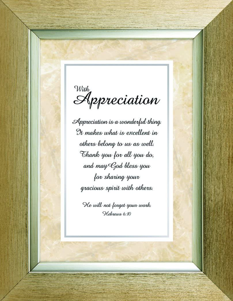 Heartfelt Collection Meaningful Moments Frame, With Appreciation