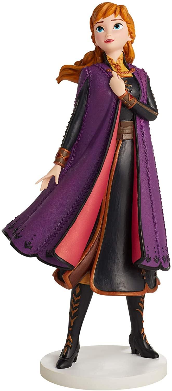 Enesco Disney Showcase Frozen II Anna Figurine, 8.31 Inch, Multicolor